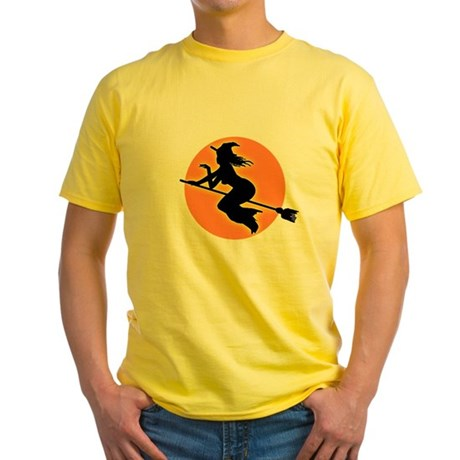 Witch Moon Yellow T-Shirt