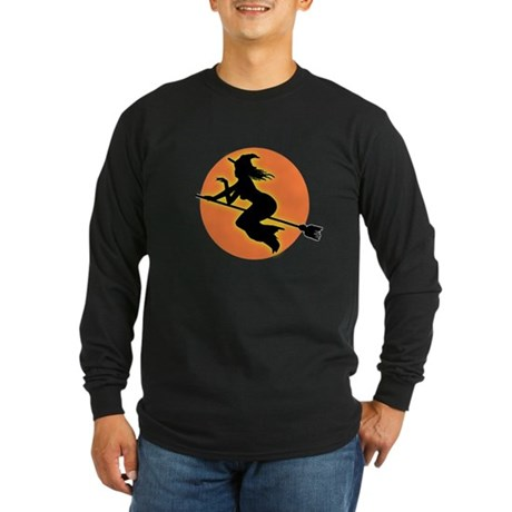Witch Moon Long Sleeve Dark T-Shirt