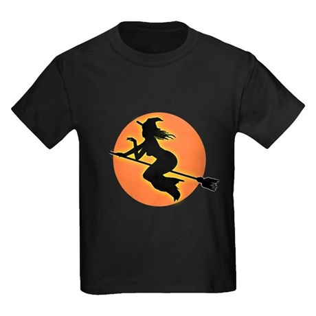 Witch Moon Kids Dark T-Shirt