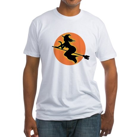 Witch Moon Fitted T-Shirt