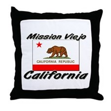 Mission Viejo California Throw Pillow