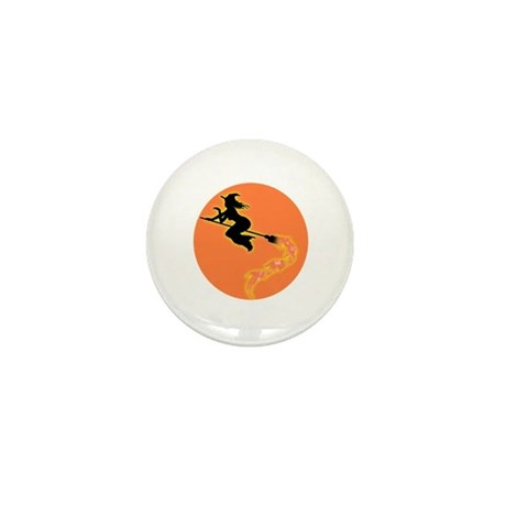 Witch Moon Mini Button (10 pack)