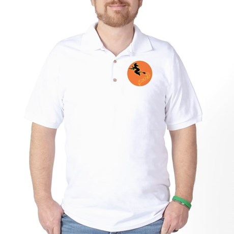 Witch Moon Golf Shirt