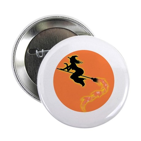 "Witch Moon 2.25"" Button (10 pack)"