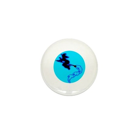 Witch Moon Mini Button
