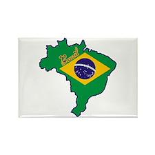 Cool Brazil Rectangle Magnet (10 pack)