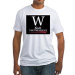 GEORGE W. BUSH Fitted T-Shirt
