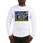 Starry Night / Border Terrier Long Sleeve T-Shirt