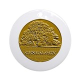 Genealogy Ornament (Round)