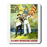 The Navy Needs You! Mousepad