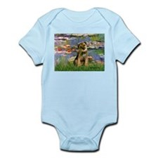 Lilies 2 / Border T Infant Bodysuit
