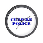 The Cubicle Police Wall Clock