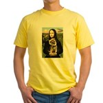 Mona & Border Terri Yellow T-Shirt