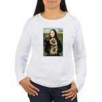 Mona & Border Terri Women's Long Sleeve T-Shirt