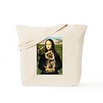 Mona & Border Terri Tote Bag