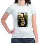 Mona & Border Terri Jr. Ringer T-Shirt