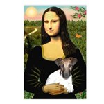 Mona & Fox Terrier Postcards (Package of 8)
