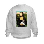 Mona & Fox Terrier Kids Sweatshirt