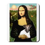 Mona & Fox Terrier Mousepad