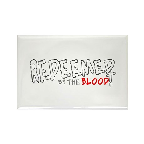 Redeemed by the Blood Rectangle Magnet (10 pack)