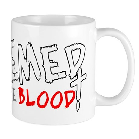 Redeemed by the Blood Mug