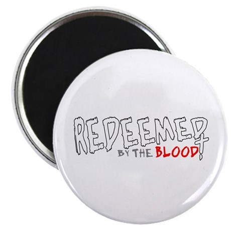 "Redeemed by the Blood 2.25"" Magnet (10 pack)"