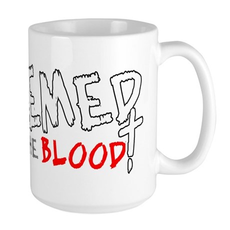 Redeemed by the Blood Large Mug