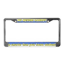 Honor Student Meyers Parrot License Plate Frame