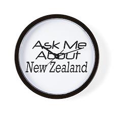 ASk New Zealand Wall Clock