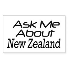 ASk New Zealand Rectangle Decal
