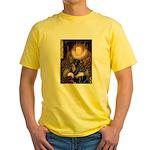 Queen & Rottie Yellow T-Shirt