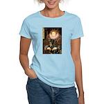 Queen & Rottie Women's Light T-Shirt