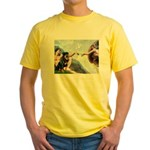 Creation/Rottweiler Yellow T-Shirt