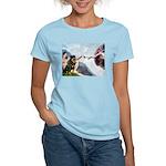 Creation/Rottweiler Women's Light T-Shirt