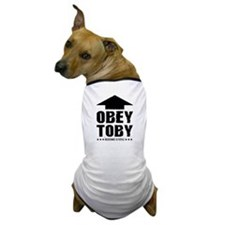 Obey TOBY! Custom Dog T-Shirt