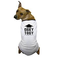 Obey TOBY! Custom Dog T-Shirt