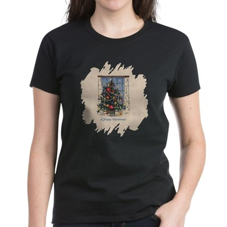 Christmas Tree Women's Dark T-Shirt