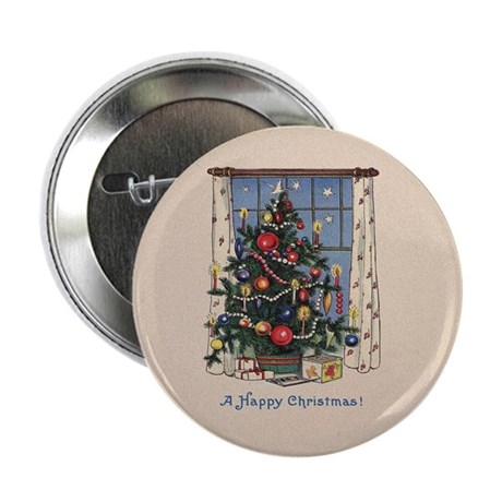 "Christmas Tree 2.25"" Button (100 pack)"