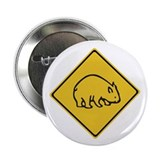"Wombats Crossing, Australia 2.25"" Button (100 pack"