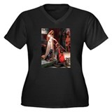 Accolade / Rottweiler Women's Plus Size V-Neck Dar