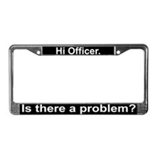 """Officer""License Plate Frame"