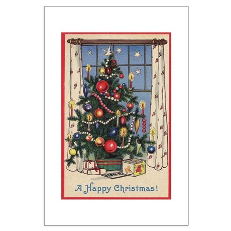 Christmas Tree Large Poster