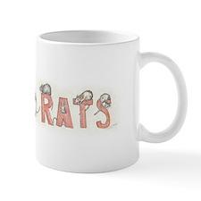 I LOVE RATS Small Mugs