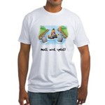 Kayak Capers Fitted T-Shirt