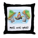 Kayak Capers Throw Pillow