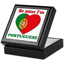Be Mine I'm Portuguese Keepsake Box
