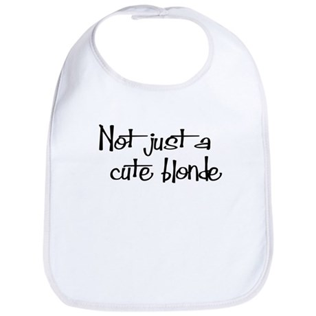 Not just a cute blonde! Bib