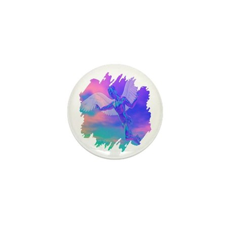 Angel of Light Mini Button (100 pack)
