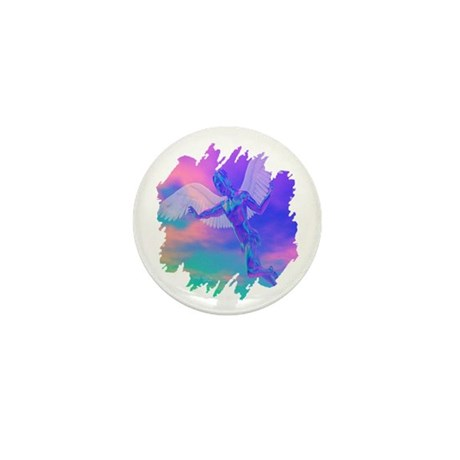Angel of Light Mini Button