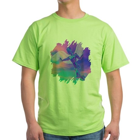 Angel of Light Green T-Shirt